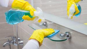 Уборка санузла, ванной комнаты, туалета