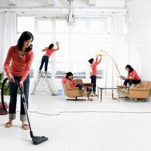 Генеральная уборка в жилых комнатах
